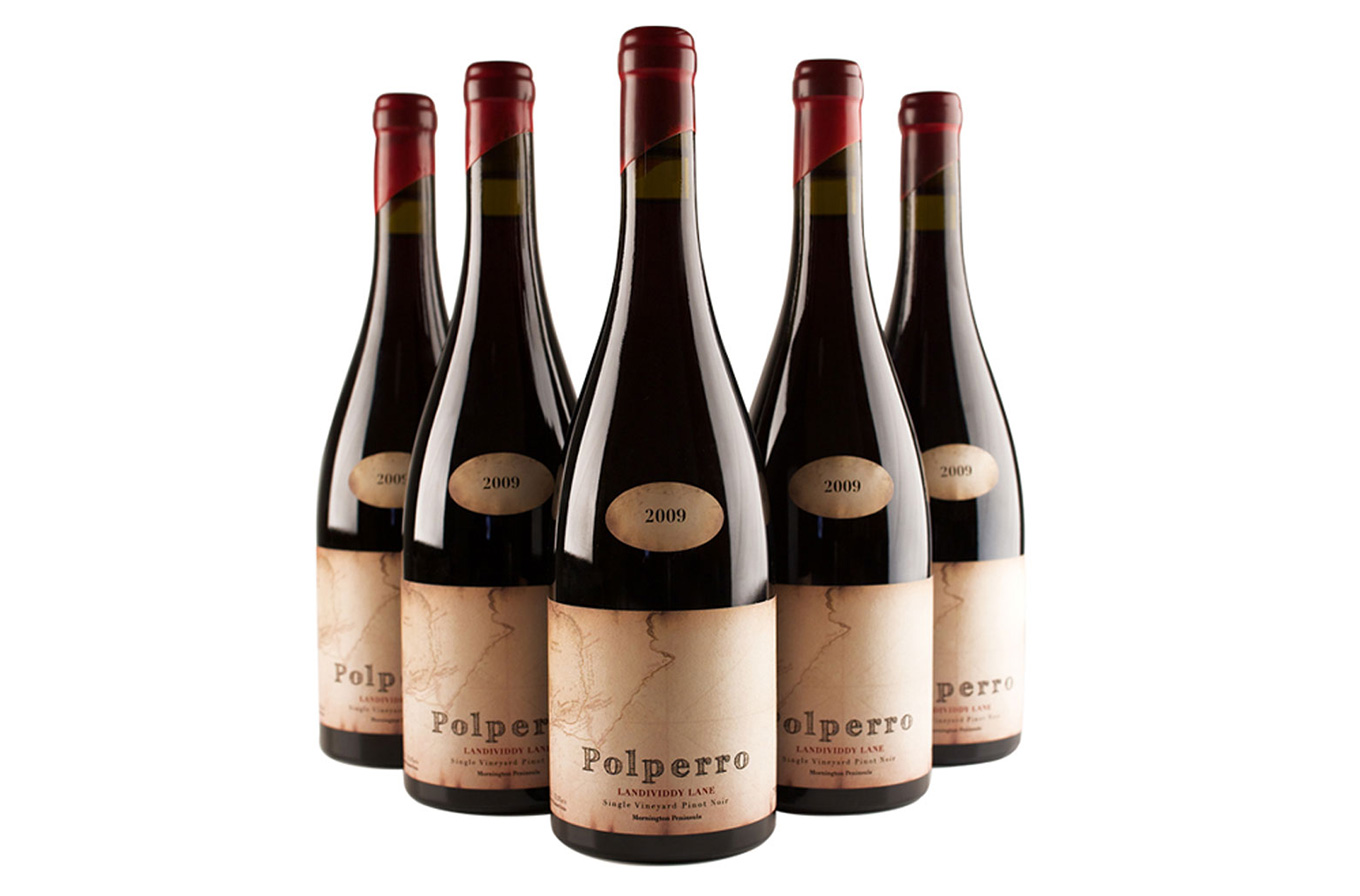 five polperro wines pinot noir 2009 vintage bottles